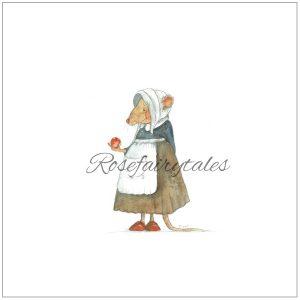 geillustreerd Kaart oud hollands papier muis