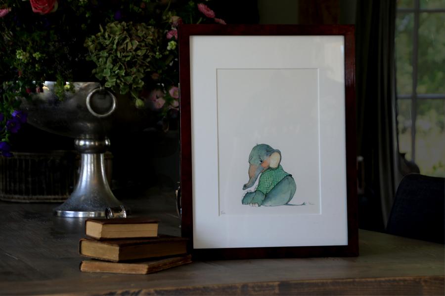 Geïllustreerde prent