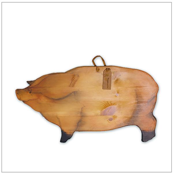houten broodplank varken landelijke stijl