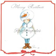 Kerstkaart_Sneeuwpop