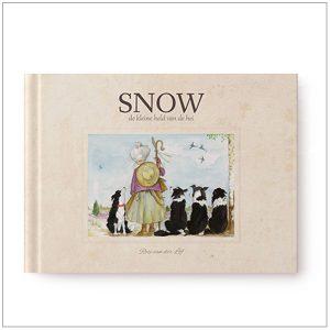 Kinderboek - Snow, de kleine held van de hei