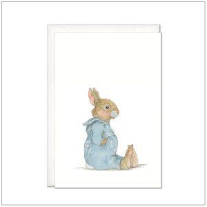 Kaart versturen - postcard - baby konijntje 3