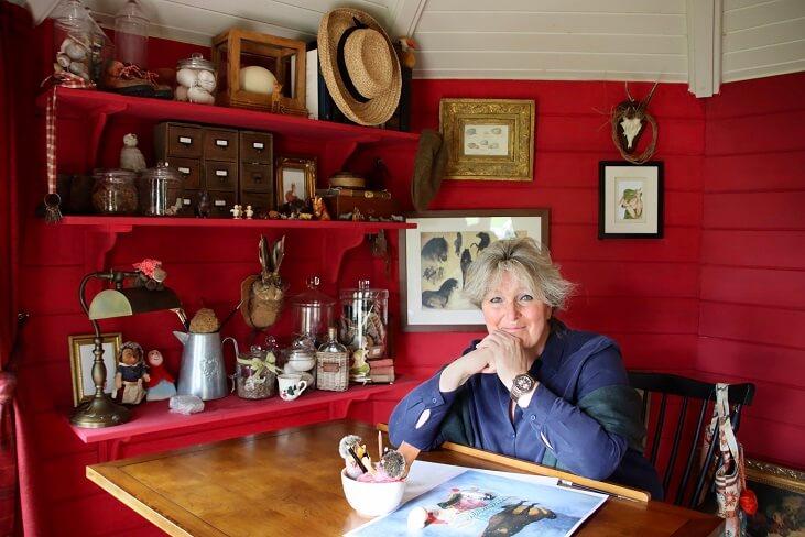 Illustratrice Rose van der Lof