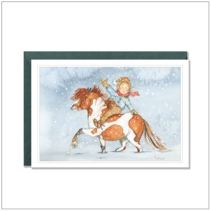 Kerstkaart versturen - pony